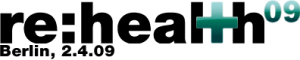 Logo der re:health09