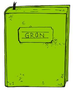 Grünbuch - illustration von dirk-schmidt